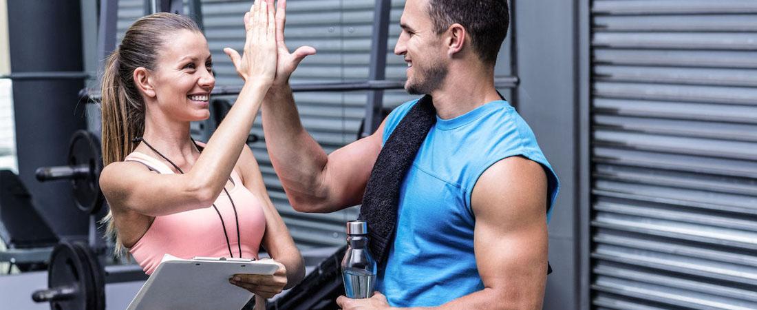 Индивидуальные занятия с личными тренером
